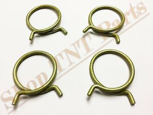 """2"""" Wire Hose Clamps Radiator Water Pump Thermostat Clamp Gm Chevy Buick Olds"""