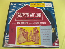 Rare 45 Green Vinyl Box Set: Roy Rogers - Skip to My Lou and other Square Dances