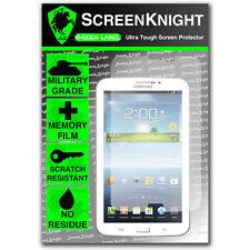 """ScreenKnight Samsung Galaxy Tab 3 8.0"""" SCREENPROTECTOR invisible Military Shield"""