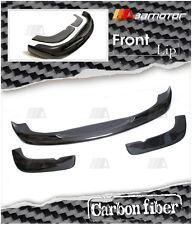 Carbon Fibre ACS Style Front Bumper Lip Spoiler Splitter 3PCS Set for BMW E46 M3