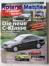 AMS 19-98+AUDI A6+JEEP CHEROKEE+MERCEDES C/S+VW LUPO+BERTONE PICKSTER+FORD FOCUS