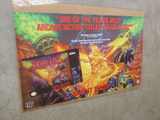 "Skyblazer Poster Super Nintendo NES 24"" x 40"" From 1994 SNES Video Game Store"