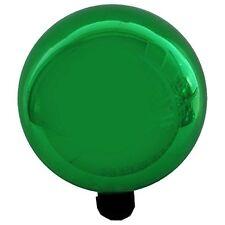 Gardener's Select Glass Gazing Globe Metallic Green 10in Gazing Ball, New