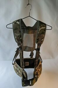 Surplus MTP PLCE webbing, 6 point yoke and battle belt, Cadets/Airsoft