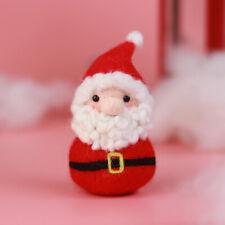 Santa Claus Needle Felting Kit - Needles, Finger Guards, Foam Mat, Instruction