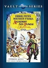 Against All Flags 1952 (DVD) Errol Flynn, Maureen O'Hara, Anthony Quinn - New!