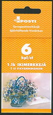 FINLAND H53 (1149) Valentines Day/Flowers booklet, VF