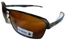 Gafas de sol de hombre polarizadas cuadrados de metal