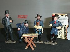 King and Country US Civil War Abraham Lincoln & His Generals CW102
