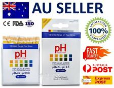pH Test Strips (100 Strips) for Urine & Saliva Alkaline Diet Testing Kit Sticks