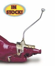 "Lokar Nostalgia Shifter GM TH350 - 16"" Lever & Brushed Mushroom Knob ATS6350BNM"