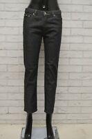 Jeans GAS Donna Taglia Size 27 Pantalone Pants Woman Cotone Slim Skinny Corto