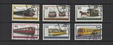 1971 Allemagne Berlin transports berlinois 6 timbres oblitérés/T2215