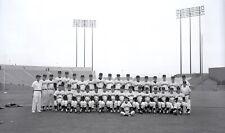 "1962 San Francisco Giants Team Original Photo Negative 4"" x 5"" Willie Mays"