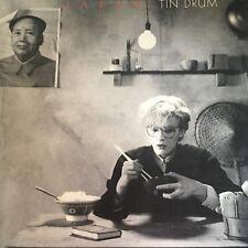 """JAPAN....TIN DRUM - - Rare 1981 Australian 12"""" LP - DAVID SYLVIAN New Wave EXC"""