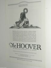 1920 Hoover vacuum cleaner advertisement, shown with Victrola, Rocking horse etc