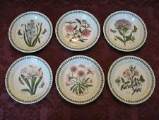 "Lot of Six (6) Portmeirion Botanic Garden 8½"" Salad Plates - Excellent!"