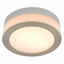 JOB LOT 8 x Masterlite Deva 40w Bathroom IP44 Contemporary Modern Ceiling Light