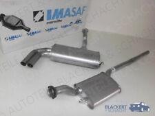 IMASAF Auspuffset MSD+ESD für Audi 90 2.0 20 V+2.3 E quattro (89/Q,8A,B3) 87-91