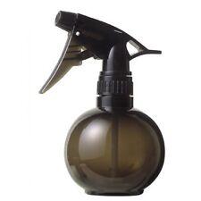 Salon Water Spray Bottle Round smoked gray (Black) 300 ml