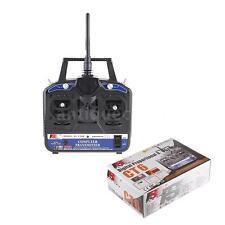 2.4G FS-CT6B 6CH Radio Model RC Transmitter Receiver Black Blue US Shipping W1W7