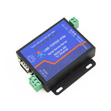 Serial RS232/RS485 410s to Ethernet Server Httpd Client/ Modbus TCP/DNS/DHCP