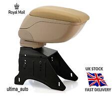Beige Accoudoir BRAS REPOSE Console pour Fiat 500 Linea Punto Stilo Bravo Grande