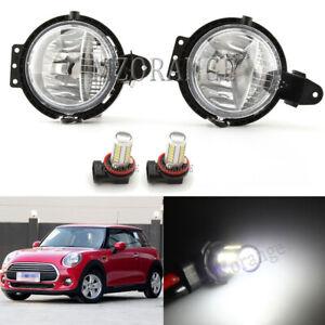 LED Car Front Bumper Fog Light Lamp For BMW Mini R55 R56 R57 R58 R59 2006-2015