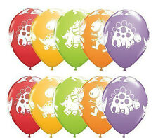 10ct Cute and Cuddly Dinosaur Latex Balloons Birthday Decorations Party Supplies