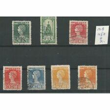 Nederland 121B-127B  Jubileum 1923  VFU/gebr  CV 30 €