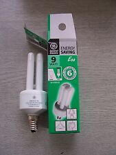 9W Energy Saving Bulb. E14. Colour: 865 Daylight. General Electric DBX. TWO PACK