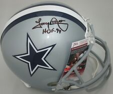 "Cowboys TONY DORSETT Signed Replica Full Size Helmet AUTO w/ ""HOF '94"" -  JSA"