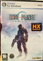 LOST PLANET EXTREME CONDITIONS PC NUOVO DI ZECCA SIGILLATO ITALIANO + EU