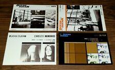 "DURAN DURAN First Album Set Of Four 6""x 4"" Promo Advert Postcards. GIFT IDEA 19"