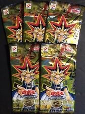 2002 YuGiOh Advent of Union Japanese Booster Packs - Lot of 5 Packs SEALED