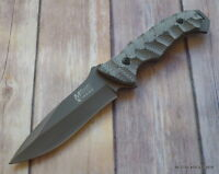 MTECH XTREME MICARTA HANDLE FIXED BLADE KNIFE 9.5 INCH OVERALL W/ NYLON SHEATH