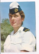 ISRAEL,  A WOMAN OFFICER IN THE I.D.F NAVY,  A MINT PC,ABOUT  1967