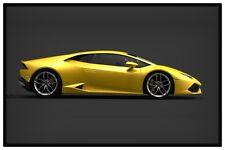 """LAMBORGHINI HURACAN #4 POSTER 12"""" x 18"""" - EXOTIC SPORTS CARS"""