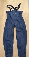 MUSTO Yachting Pants Insulated Trousers Waterproof Salopettes Men's 2XL Big size