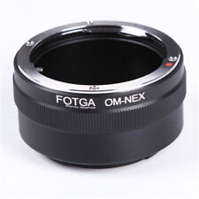 Olympus OM Lens To e-mount Adapter Ring For Sony NEX7 A7 II A9 A6000 A6500 A5000