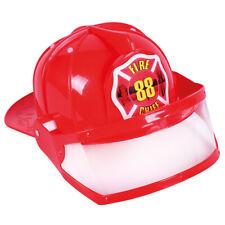 Casque de Pompier Enfants Pompiers Firfighter Casque Chapeau pour Costume