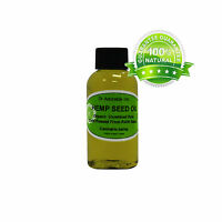 HEMP SEED OIL 100% PURE ORGANIC COLD PRESSED VIRGIN NATURAL 2 OZ UP TO GALLON