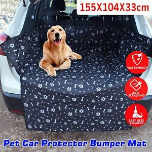 Waterproof Dog Car Boot  Liner Protector Bumper Mat for Dogs  Pet Car Boot Cover