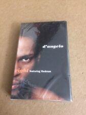 D'ANGELO ft REDMAN RIGHT  FACTORY SEALED CASSETTE SINGLE