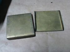 VINTAGE SNOWMOBILE NOS skiroule other brass wear plate set ,0031 9043,snowmobile