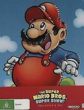 Super Mario Bros Collector's Set DVD ( 6 Discs ) Tin Case Region 4