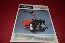 Belarus 610 Mini Tractor Dealers Brochure YABE10