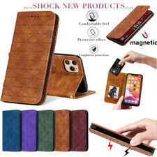 For iPhone 11 Max X XR SE 2020 6s New Leather Flip Wallet Folio Phone Case Cover