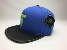 Tackma Club Strapback Hat SNA TSA17-600 Blue/Black/Green 2017 Brand New Withtags