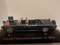 JFK 1963 Assassination Lincoln Continental Limo SS-100-X  1/43, Model Car,